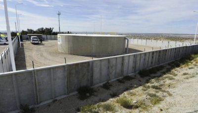 Inauguraron una cisterna de agua potable en Puerto Madryn