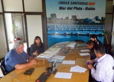 OSSE confirmó trabajos en Alto Camet y Las Dalias para extender el servicio de agua