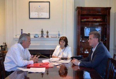 El ministro Tierno se reunió con Patricia Bullrich