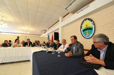Bordet afirmó que próximamente estará operativo el empréstito internacional para municipios