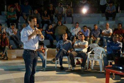 Con Naidenoff y Blas Hoyos, el Plan Belgrano pasó por Pirané y Palo Santo