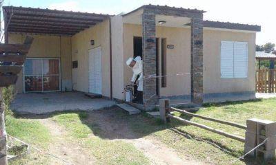 Sauce Grande: fumigaron la casa de la mujer fallecida por hantavirus