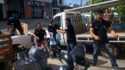 La Plata: Montan operativo especial para asistir con agua potable a los vecinos que se encuentran sin servicio