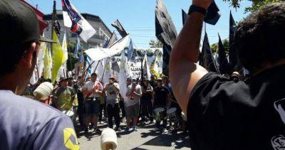 Masiva movilización logró la reincorporación del obrero despedido por Lácteos MePi