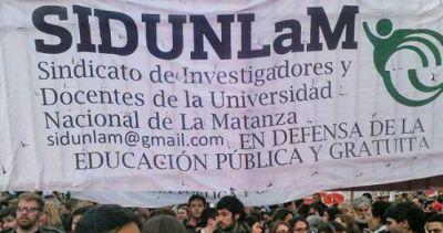 Denuncian 20 despidos persecutorios en la Universidad de La Matanza