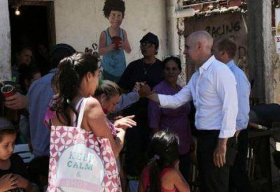 Larreta inauguró obras en la Villa 31