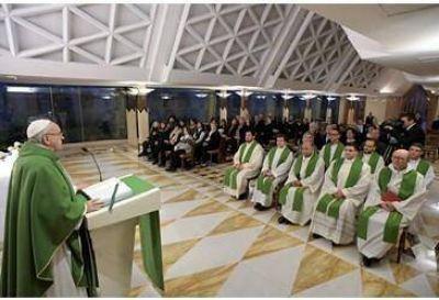 Homilía del Papa: Dios nos ha dado el ADN de hijos