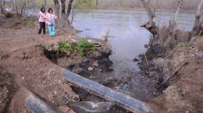 Por la contaminación del río, marchan en Plottier
