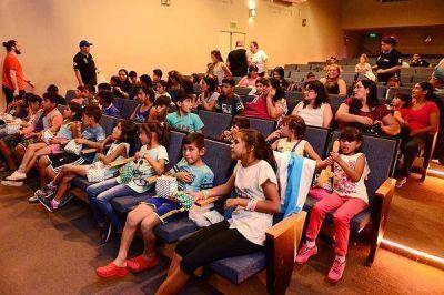 Chicos de Santiago del Estero visitaron San Fernando