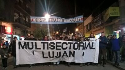 La Multisectorial se organiza contra