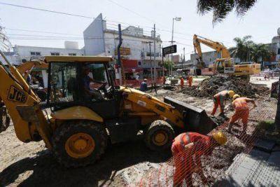 Comenzó la remodelación de la Avenida 25 de Mayo