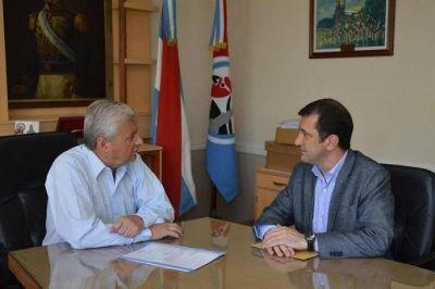 El Intendente Lauritto recibió al Secretario de la Gobernación
