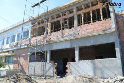 Avanzan las obras de remodelación y ampliación del hospital Pedro Ecay