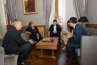 Directivos de ZTE se reunieron con Morales