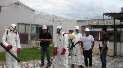 Campaña de saneamiento ambiental en unidades carcelarias