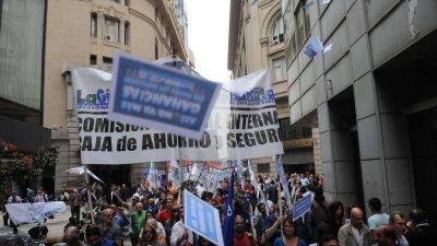 Arranca la jornada de protesta de los bancarios