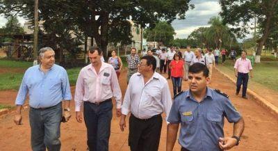 Cassani comprometió su apoyo para la futura represa de Garabí