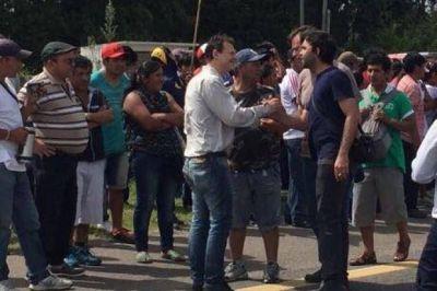 Apuntan al bruerismo por instigar los piquetes tras el temporal en La Plata