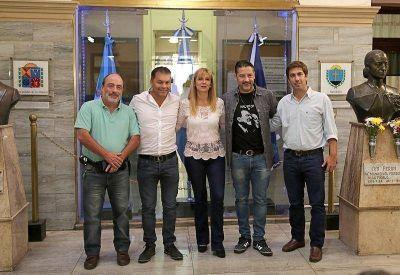 Con eje en la campaña, intendentes del Fénix dialogaron en La Matanza