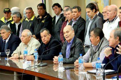 Jubilaciones y desempleo, entre los temas mas importantes de la reunion de Venegas con dirigentes y funcionarios