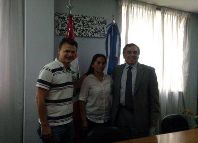 El concejal Bruera se reunió con los cónsules latinoamericanos