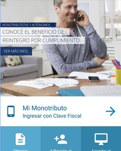 Monotributo: ya está disponible la aplicación para realizar las operaciones en AFIP desde el celular