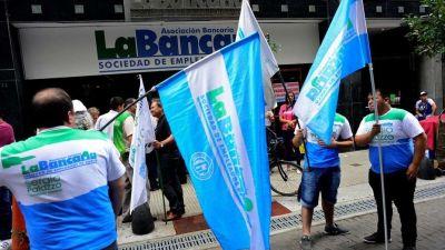 Segunda jornada de protesta de los bancarios
