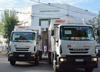 Se completó la flota de nuevos camiones compactadores comprados por el Municipio