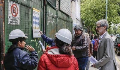 Gobierno de la Ciudad clausuró 40 obras en construcción en enero