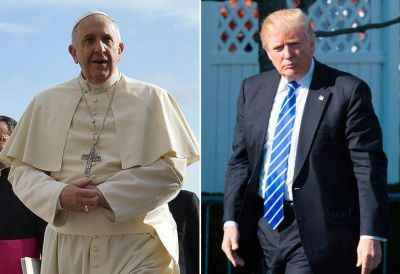 Francisco y Trump, ante el dilema de hacer las paces o declararse la guerra