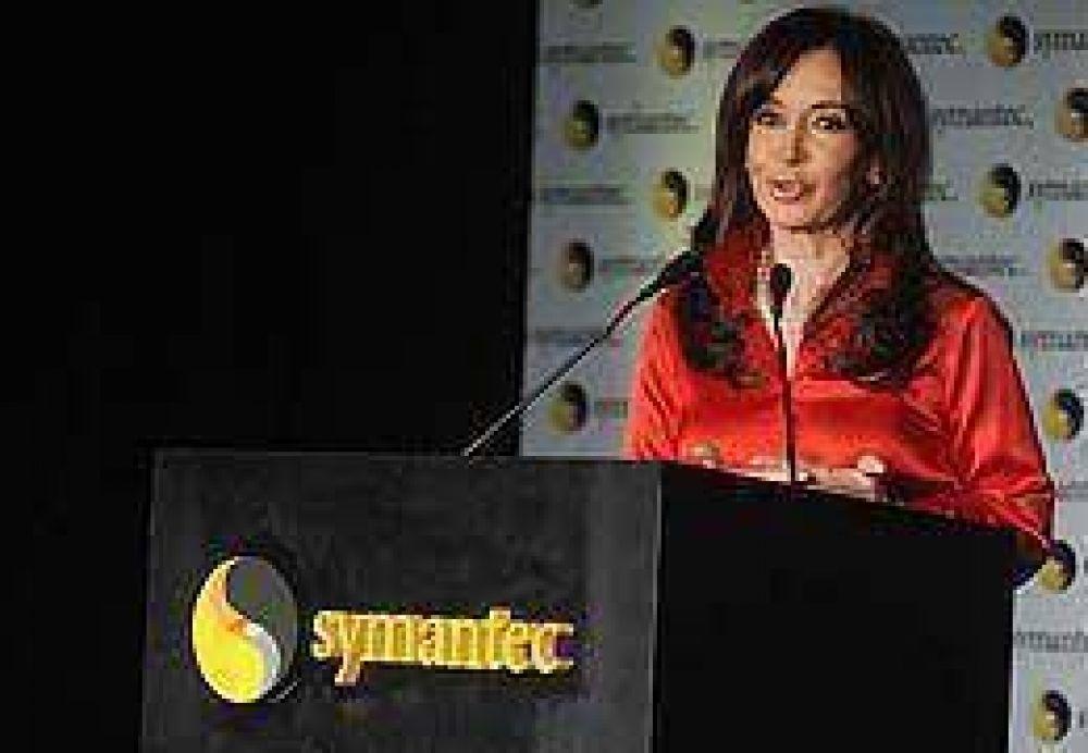 """Ley de Medios: Cristina dijo que se viven momentos """"de artillería pesada"""""""