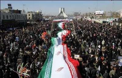 Irán: La República Islámica celebra el 38º aniversario de la Revolución en todo el país