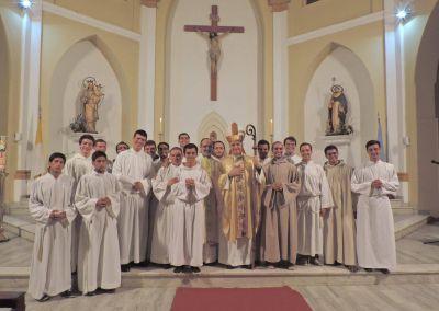 Se celebró la misa por el aniversario de la Diócesis de Santo Domingo
