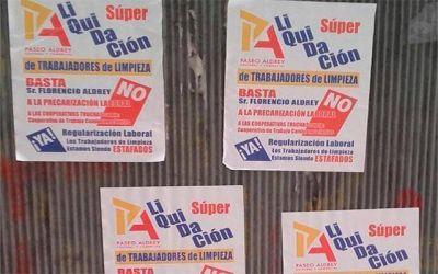 Empleados de limpieza del Paseo Aldrey denuncian precarización laboral