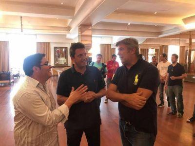 Pablo Bossio y Mauricio D'Alessandro participaron de un encuentro convocado por Massa en Mar del Plata