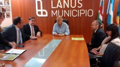 Lanús recibirá asistencia jurídica desde Provincia