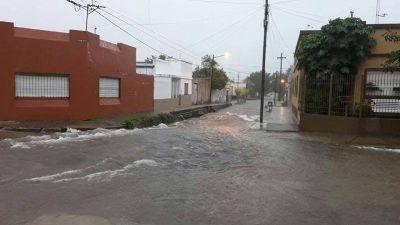 La Provincia asiste a Concepción del Uruguay y monitorea el impacto de las fuertes lluvias