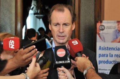 Bordet se reúne hoy con el ministro Lombardi