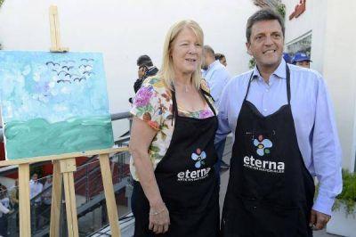 Massa y Stolbizer, definitivamente juntos de cara a las legislativas: comenzaron la campaña en La Feliz