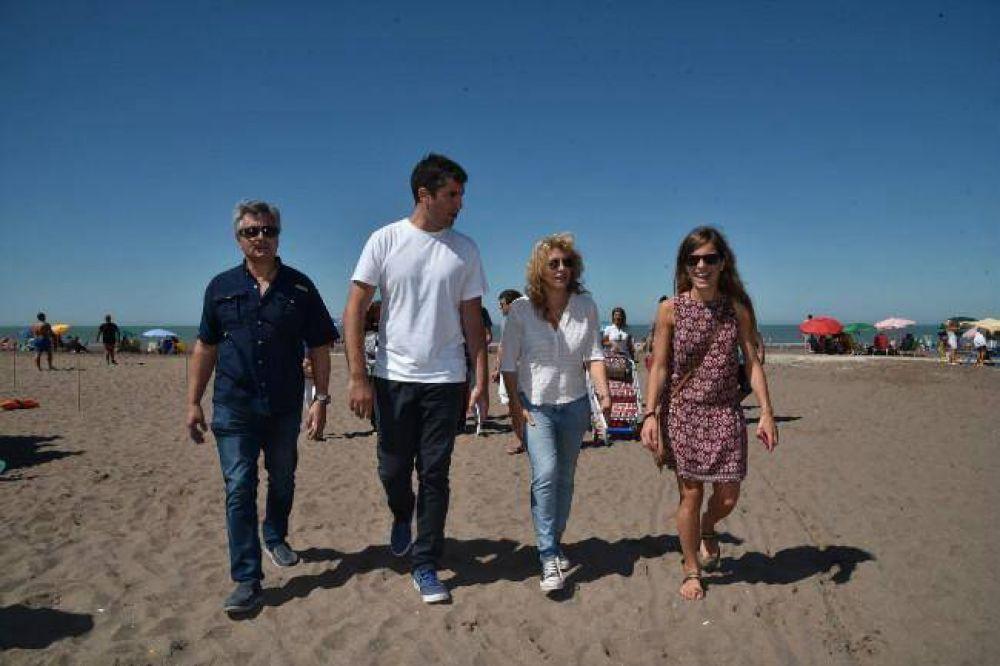 Mosca, Lorden y Nardelli visitaron el certamen con ediles de Cambiemos
