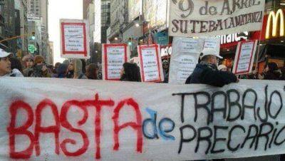 Casi 8 millones de argentinos tienen un empleo precario