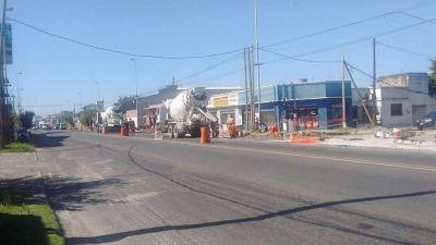 El Metrobus en Quilmes cada vez más cerca: repavimentan 32 cuadras de Avenida Calchaquí