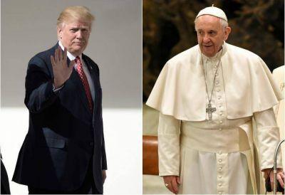 Francisco le declara la guerra a Trump