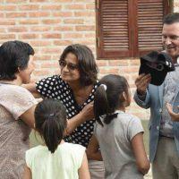 Lucía entregó viviendas rurales en Santa María