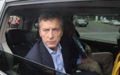 Por la lluvia, Macri suspendió su actividad junto a Vidal en San Miguel