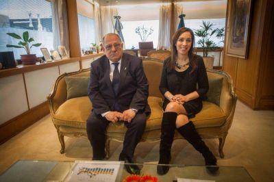 Arroyo se reunió con Vidal para analizar las obras proyectadas en la ciudad