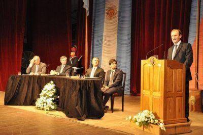 Este miércoles Bordet brindará su discurso anual ante la Asamblea Legislativa