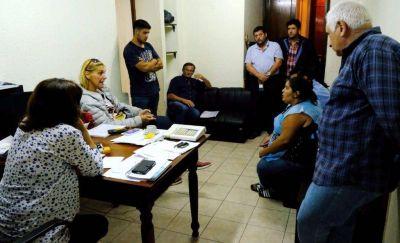 El municipio recibió a cooperativistas y garantizó la continuidad laboral