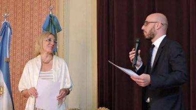 El intendente acompañó la asunción de la nueva Vicecónsul de Italia en Tandil