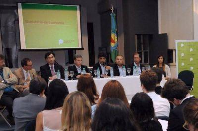 Lacunza se reunió con representantes del BID e hizo foco sobre la necesidad de obras de infraestructura